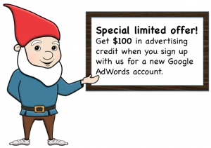PPC Management - AdWords offer