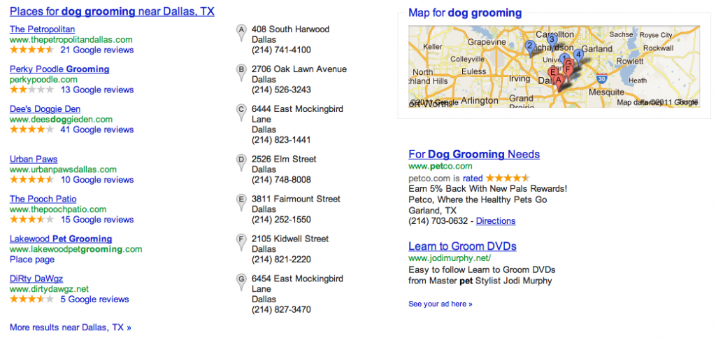 Improve Search Engine Rankings in Local Search