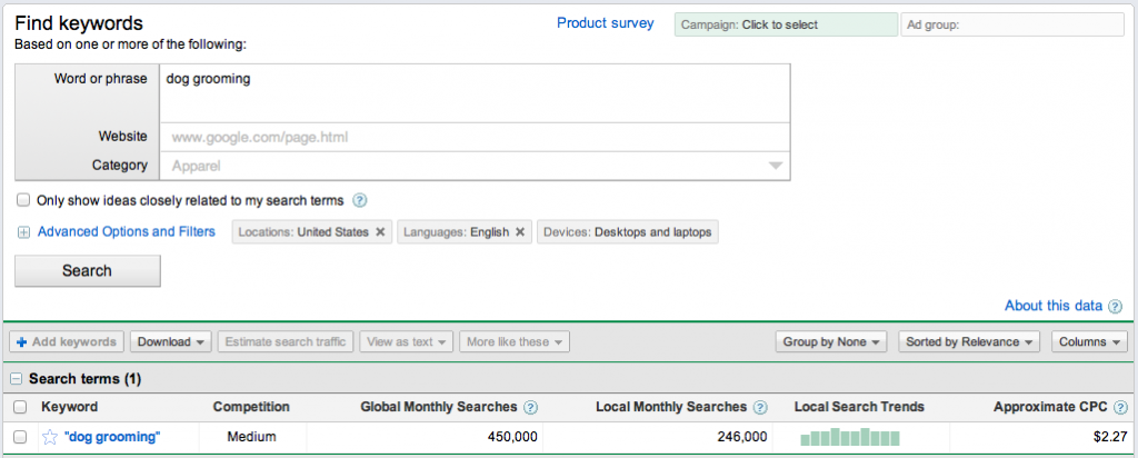 Improve Search Enging Rankings by Using Google Keyword Tool