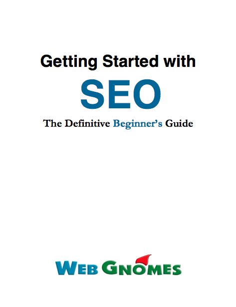 FREE eBook Getting Started with SEO Cover