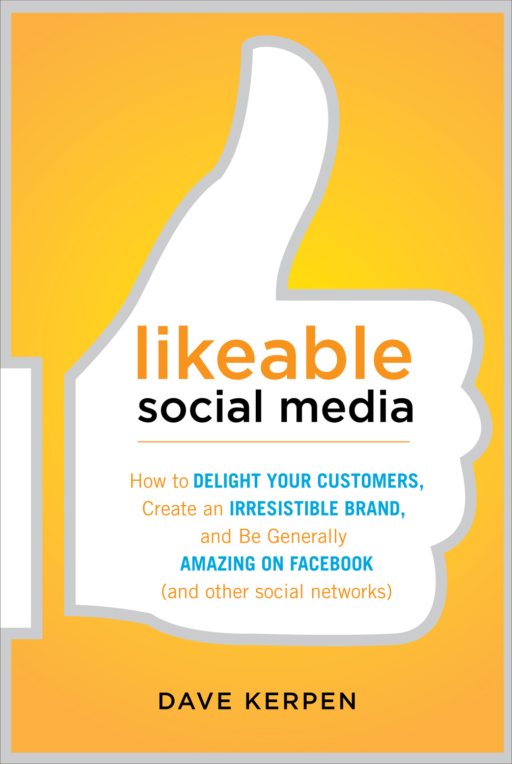 Likeable Social Media book cover