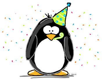 Google Penguin birthday