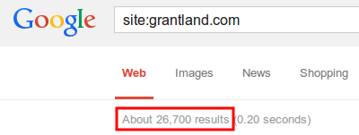 Grantland's indexed pages